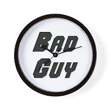 Bad Guy Wall Clock