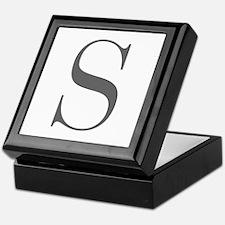 S-fle black Keepsake Box