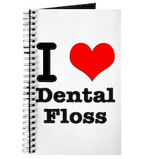 I Heart (Love) Dental Floss Journal