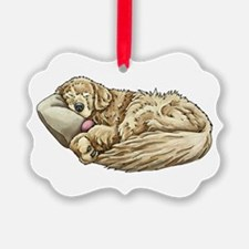 Golden Retriever Sleeping Ornament