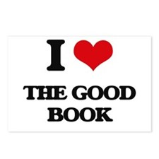 I Love The Good Book Postcards (Package of 8)