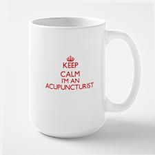 Keep calm I'm an Acupuncturist Mugs