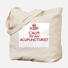 Keep calm I'm an Acupuncturist Tote Bag