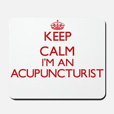 Keep calm I'm an Acupuncturist Mousepad