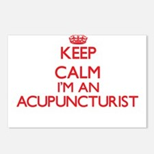 Keep calm I'm an Acupunct Postcards (Package of 8)