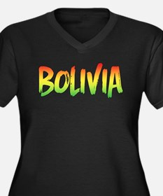 Bolivia Plus Size T-Shirt