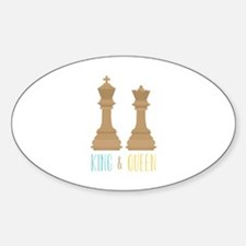 King and Queen Decal