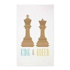 King and Queen Area Rug