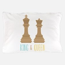 King and Queen Pillow Case