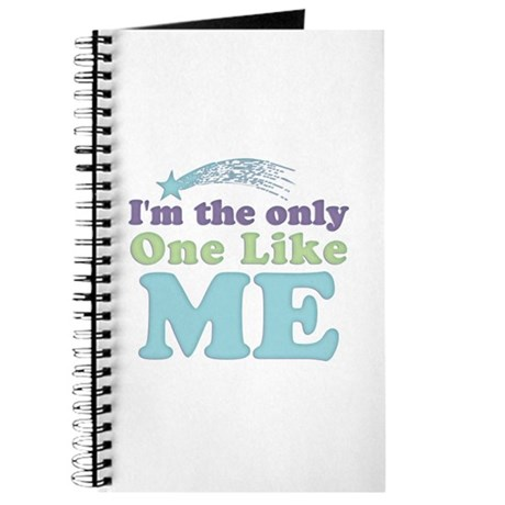 Only One Like Me Journal