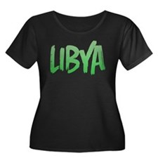 Libya Plus Size T-Shirt