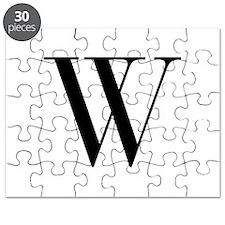 W-bod black Puzzle