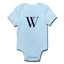W-bod black Body Suit