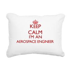 Keep calm I'm an Aerospa Rectangular Canvas Pillow