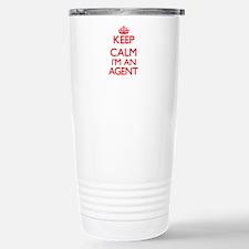 Keep calm I'm an Agent Travel Mug