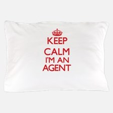 Keep calm I'm an Agent Pillow Case
