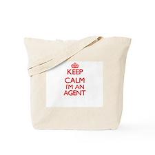 Keep calm I'm an Agent Tote Bag