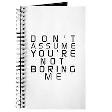 Boring Journal
