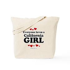 Everyone loves a California girl Tote Bag