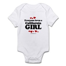 Everyone loves a California girl Infant Bodysuit