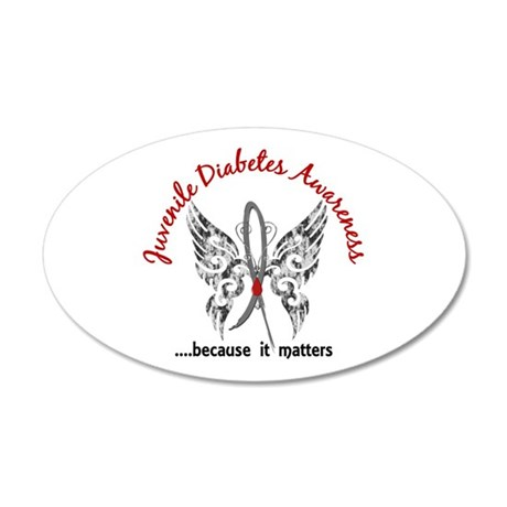 Juvenile diabetes butterfly wall decal by greyribbon for Stickers juveniles