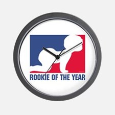 Rookie of the Year Wall Clock