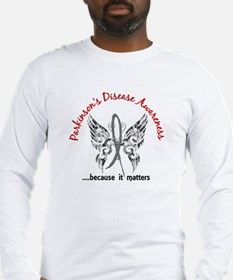 Parkinson's Butterfly 6.1 Long Sleeve T-Shirt