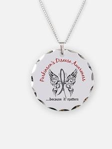 Parkinson's Butterfly 6.1 Necklace
