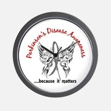 Parkinson's Butterfly 6.1 Wall Clock