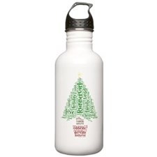 Christmas tree Water Bottle
