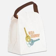 Need A Locksmith? Canvas Lunch Bag