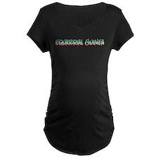 Equatorial Guinea Maternity T-Shirt