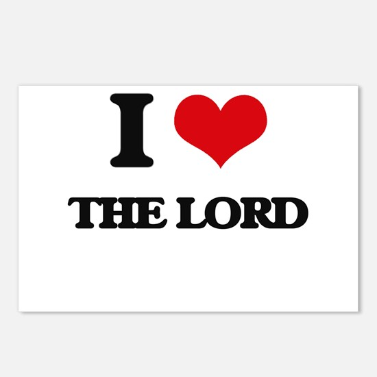 I Love The Lord Postcards (Package of 8)