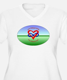 Poly Oval 01.jpg Plus Size T-Shirt