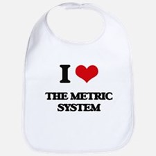 I Love The Metric System Bib
