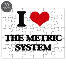 I Love The Metric System Puzzle