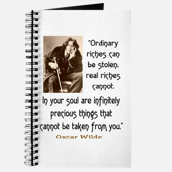 OSCAR WILDE QUOTE Journal