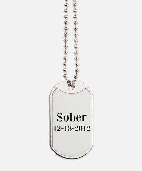 Personalizable Sober Dog Tags