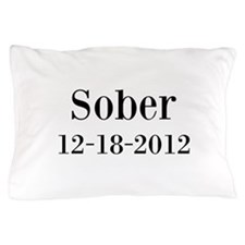 Personalizable Sober Pillow Case