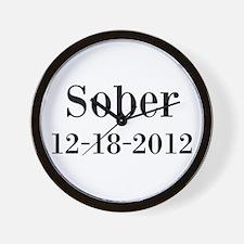 Personalizable Sober Wall Clock