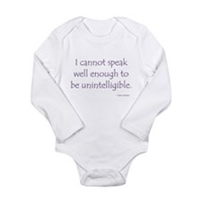 Jane Long Sleeve Infant Bodysuit