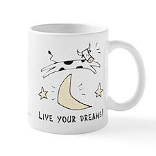 Cow Mug: Live Your Dreams