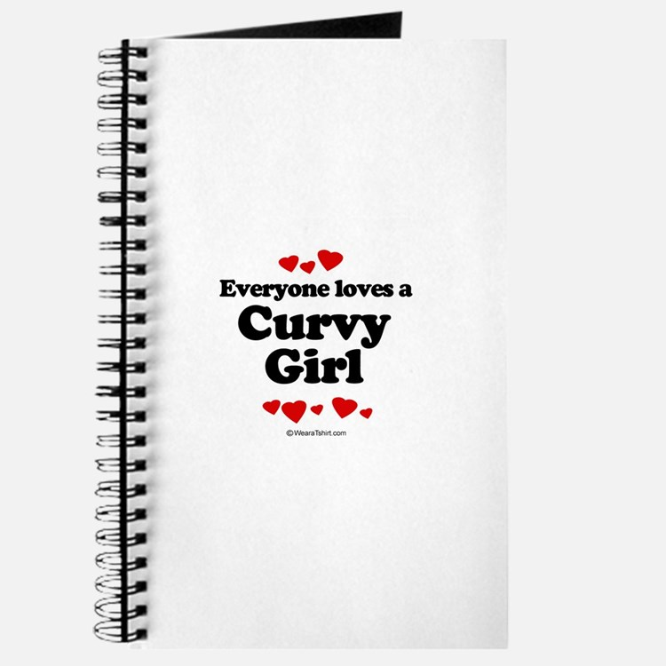 Everyone loves a curvy girl Journal