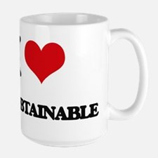 I Love The Obtainable Mugs