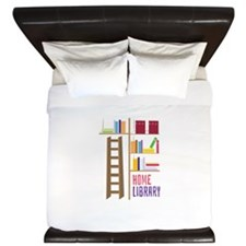 Library_Home_Library King Duvet