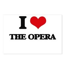 I Love The Opera Postcards (Package of 8)