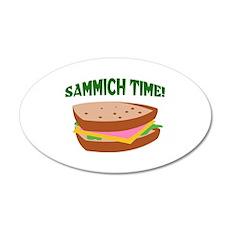 SAMMICH TIME Wall Sticker