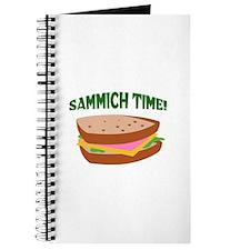 SAMMICH TIME Journal