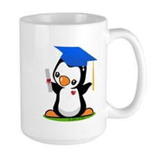 Graduation Penguin Mugs