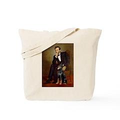 Lincoln's Doberman Tote Bag